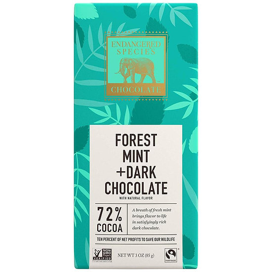 Endangered Species Forest Mint+Dark Chocolate