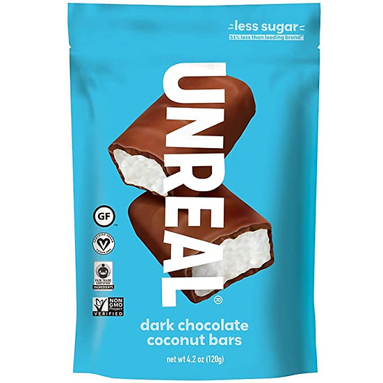 Unreal Dark Chocolate Coconut Bars