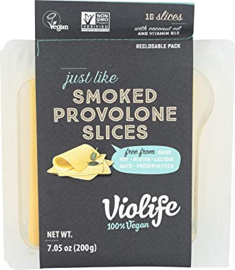 Violife Smoked Provolone Slices
