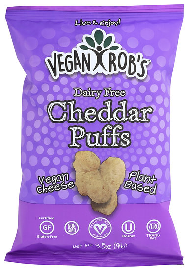 Vegan Rob's Cheddar Puffs