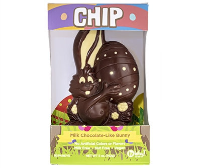 No Whey! Chip Milk Chocolate Bunny