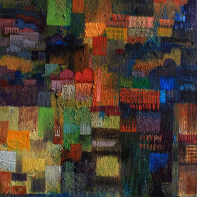 Uskudar - 70x50cm - oil on canvas - 2017