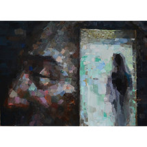 The next dream`s door - 100x140cm - oil on canvas - 2021