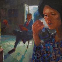 Juxtaposed - 36x50 - oil on canvas --