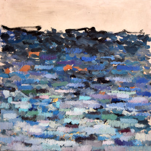 An Impression Of The Mediterranean - 80x80 - oil on canvas - 2014