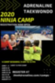 Copy of Copy of nInja camp final 4x6 (2)