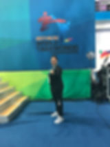 Adriana Gonzales Taekwondo Muju World Championships