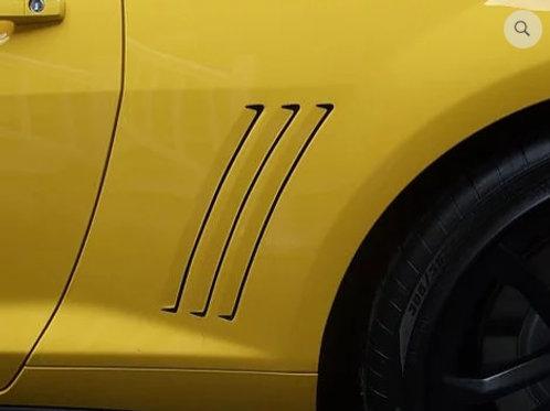2010-2016 Chevy Camaro Side Vent Inlays