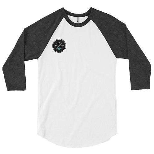 Platinum Logo 3/4 sleeve raglan shirt