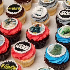 Star wars themed (edible images)
