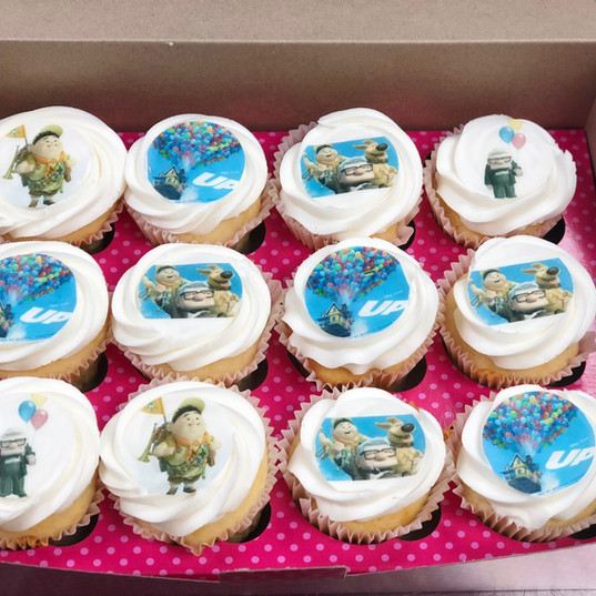 UP Themed Cupcakes