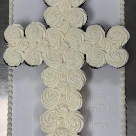 White pull apart cross (regular size)