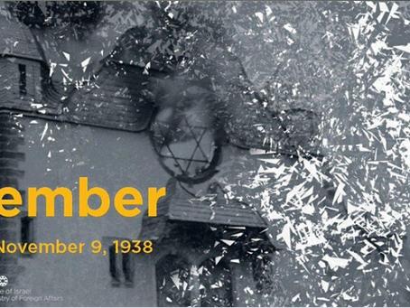 November 9, 2019 Anniversary of Kristallnacht