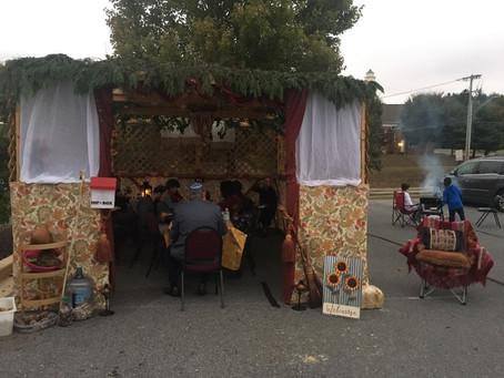 October 13 Sukkot 2019