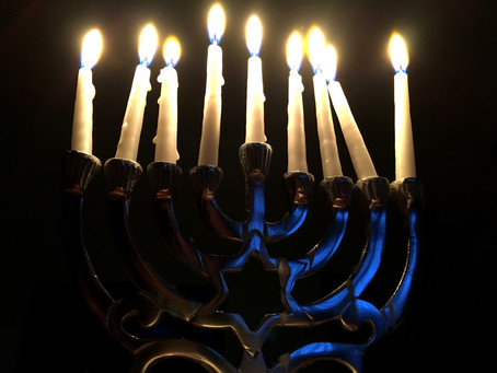 12/22/19 Actual first night of Hanukkah