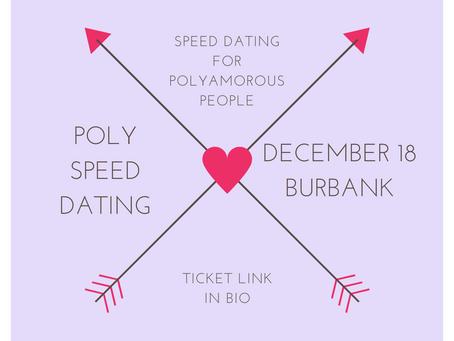 Event Prep: Poly Speed Dating Burbank