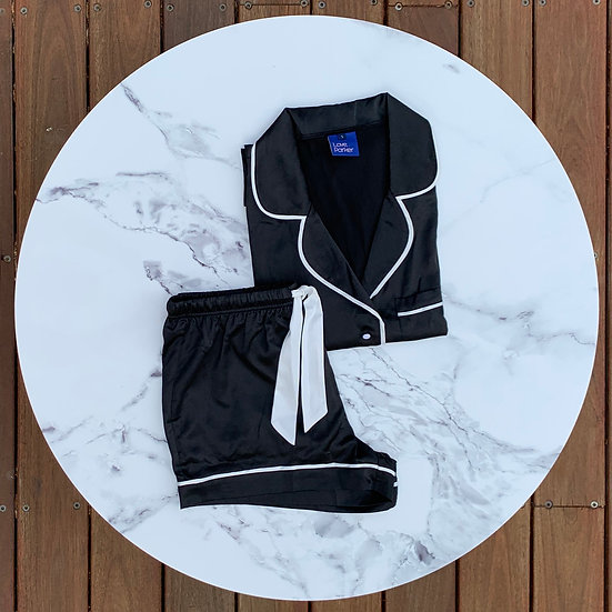 The Original Short Set - Black/White