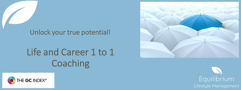 Life and Career 1 to 1 Coaching - banner