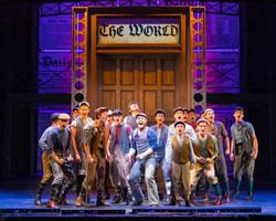 Newsies (McCoy Rigby - La Mirada Theatre)