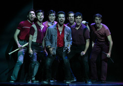 The Sharks in West Side Story (The Lexington Theatre Company) - 3rd from left