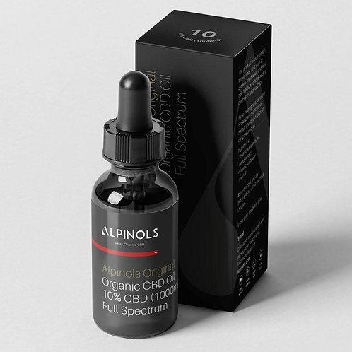 Swiss Organic CBD - Fullspectrum, THC <1%, CBD 10%