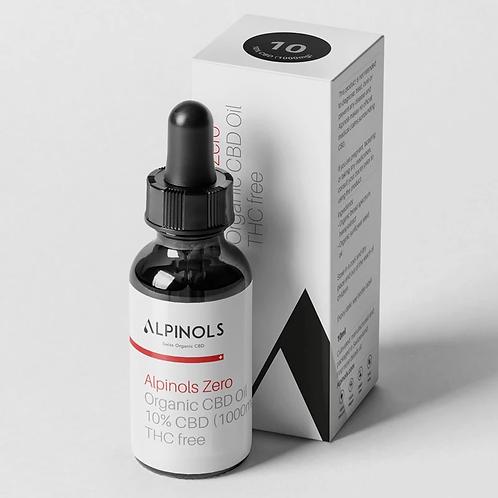Swiss Organic CBD - Broadspectrum THC-free, CBD 10%