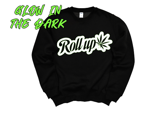 "RollUp Long Sleeve ""Glow In The Dark"""