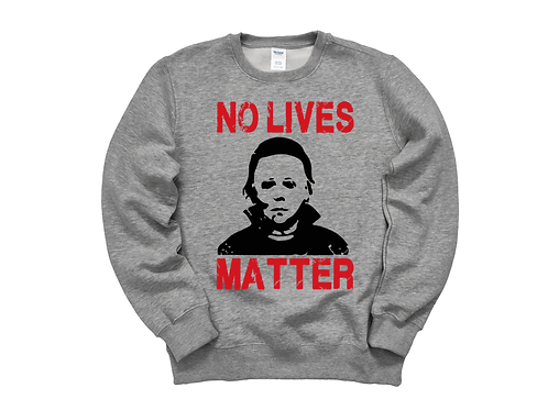 No lives Matter Halloween