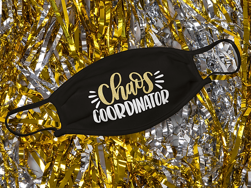 Chaos Coordinator 2 Layer Face Mask