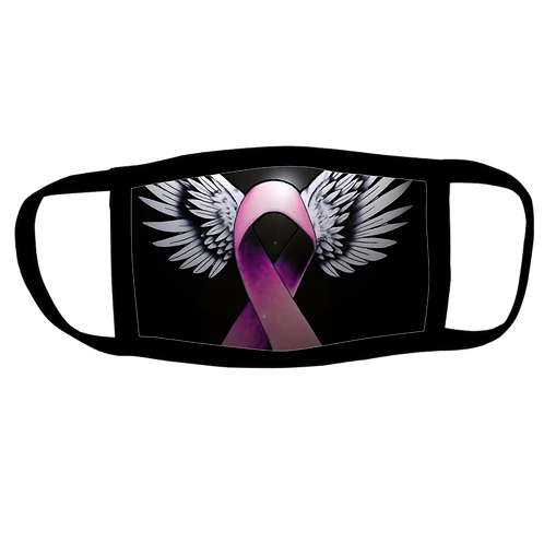 Lupus Awareness Ribbon Face Mask