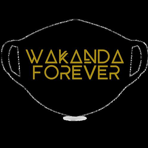 #WAKANDAFOREVER Face Mask