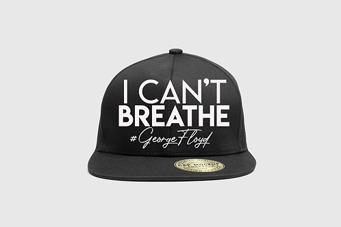 """I can't breathe"" snap back or strap back cap"