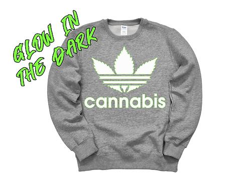 "Cannabis Long Sleeve ""Glow In The Dark"""