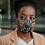 "Thumbnail: Black history Month ""Obama & MLK"" 2 Layer Face Mask"