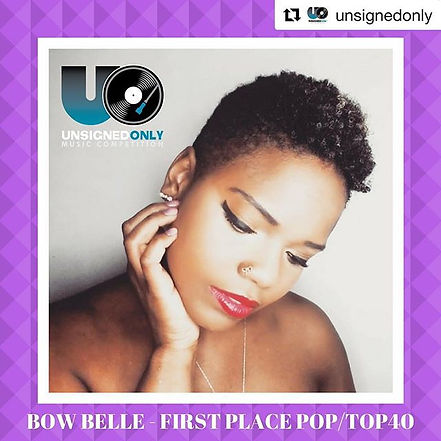 adrielle bow belle international unsigned songwriting award winner