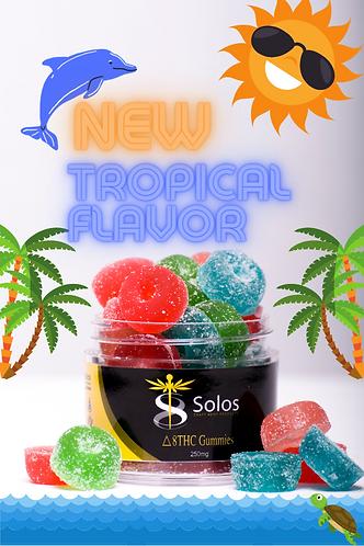 "Delta 8 THC ""Tropical"" Gummies"