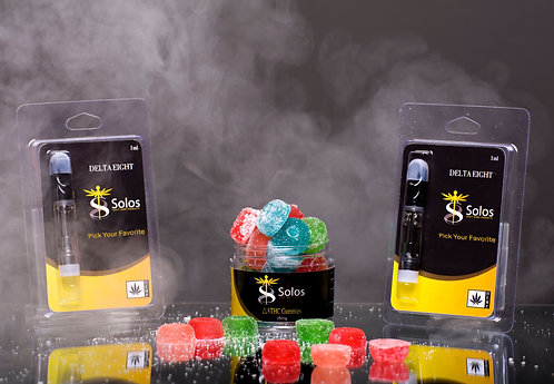 Two Vape Cart & Gummy Bundle Pack
