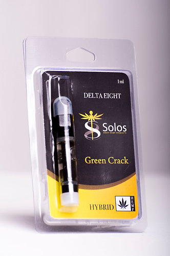 "Delta 8 THC Vape Cartridge ""Green Crack"""