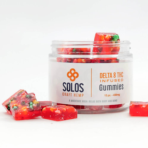 "Delta 8 THC ""Unicorn Candy"" Gummies"