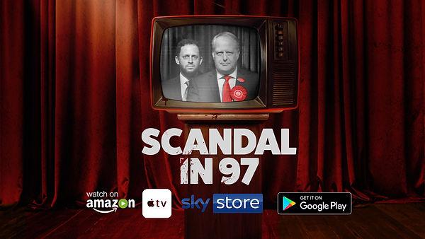 Scandal In 97 Film Poster Political Thriller