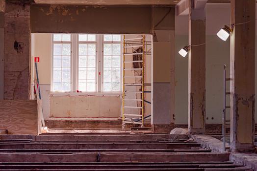 Rakennustyömaan kuvaus