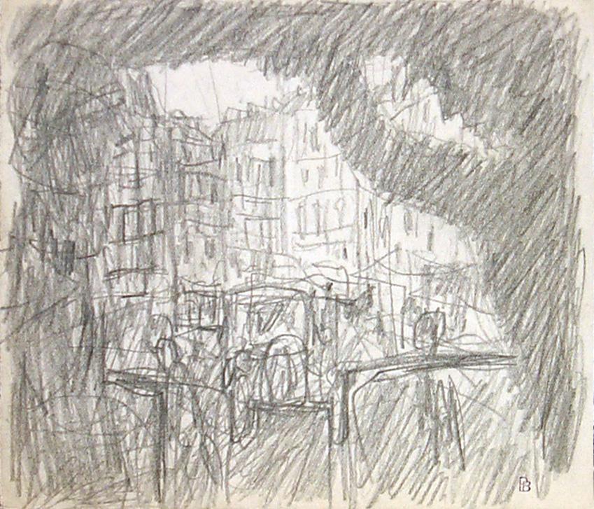 Bonnard Plateforme d'un omnibus