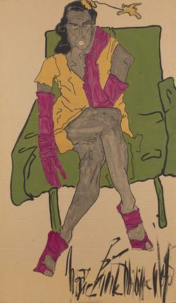 """""""La femme aux gants"""", 2013"""