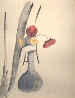 Laurencin - Bouquet de fleurs