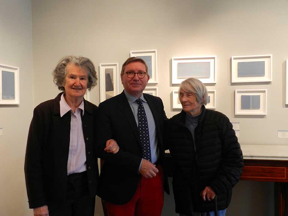 Silvia Baron Supervielle, Antoine Laurentin et Geneviève Asse