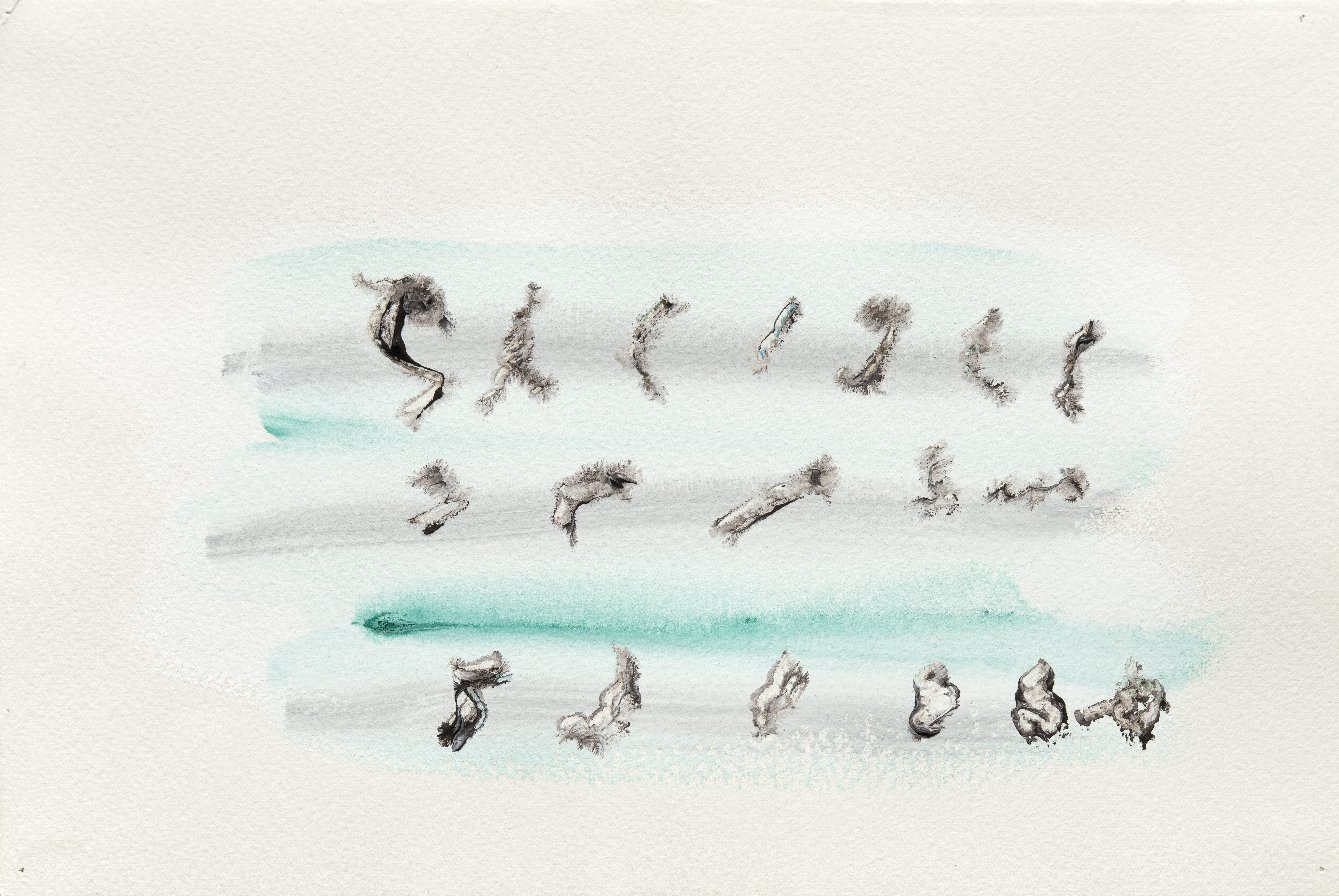 Henri Michaux- Composition