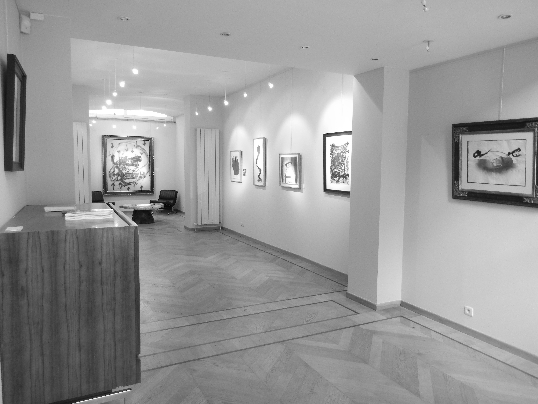 Exposition Tapies, Laurentin gallery