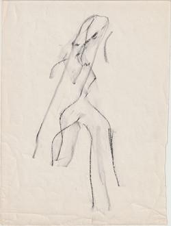Henri Michaux,frottage, 1944
