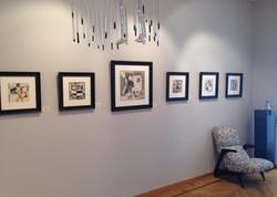 Exposition à Laurentin Gallery