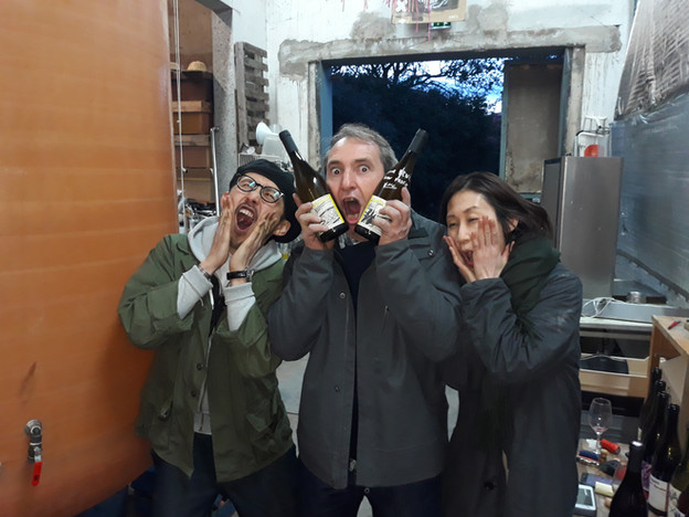 Yoshihisa Beniya, Luc Devot, Reiko Honza